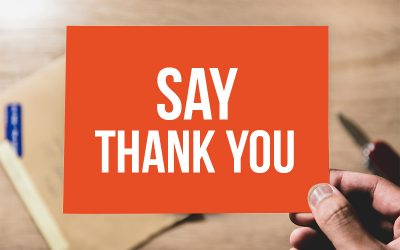 How Often Do You Say Thank You?